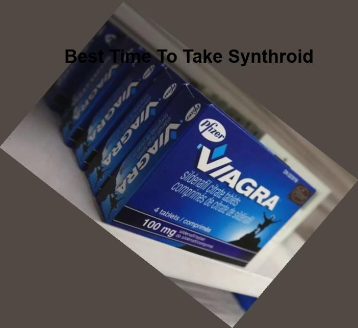 best time to take synthroid
