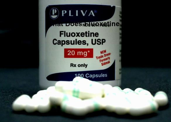 what does fluoxetine do