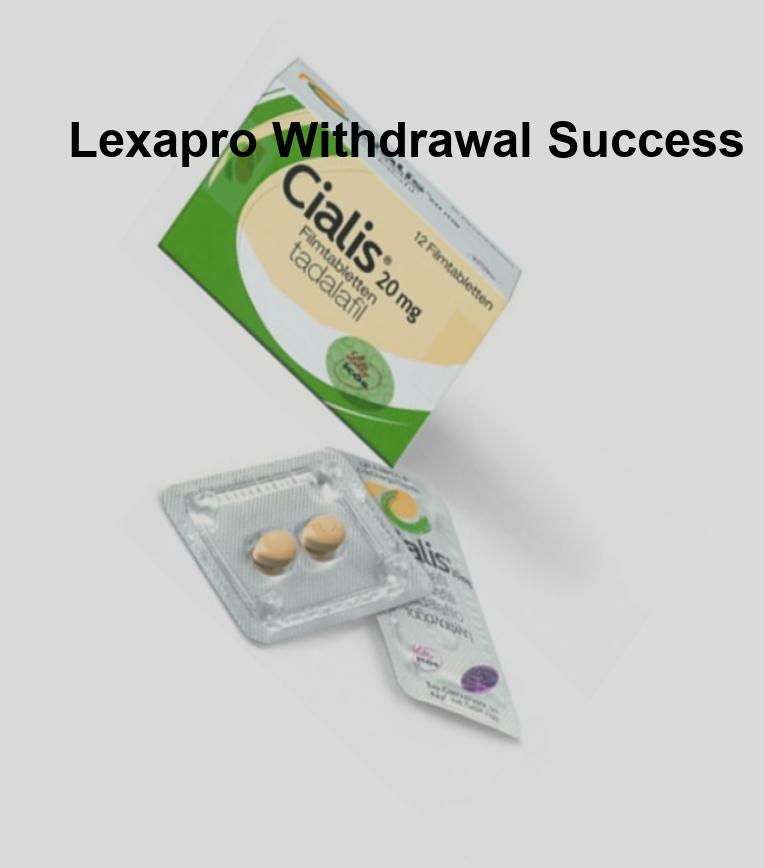 Lexapro 10 mg 30 tablets